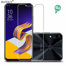 2PCS Screen Protector Glass For Asus Zenfone 5z ZS620KL Anti-brust Tempered Glass Asus Zenfone 5 ZE620KL Screen Film HATOLY makibes toughened glass screen protector film for asus zenfone 5
