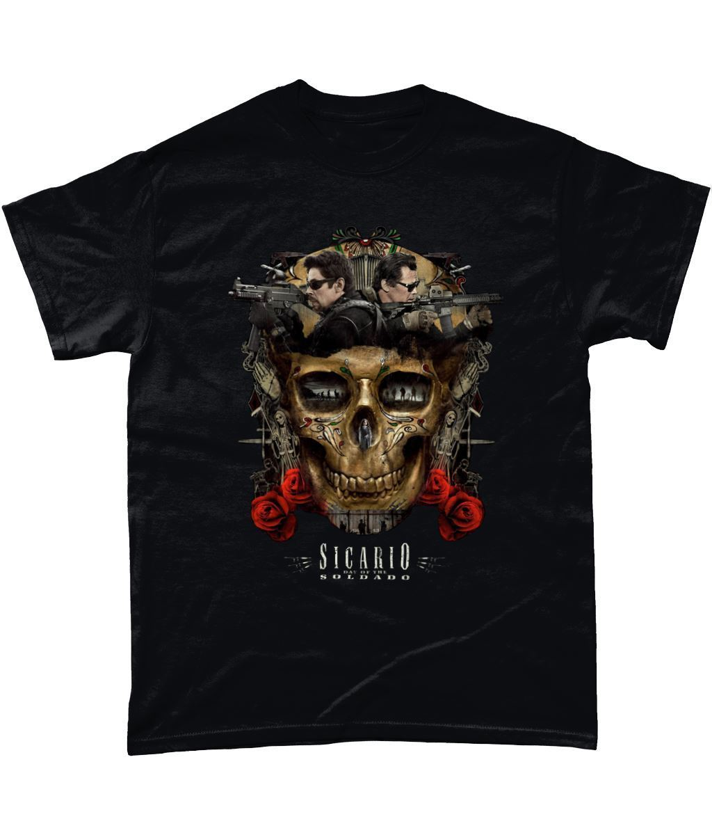 T-Shirt - Inspired by the new Movie Sequel Sicario: Day of the Soldado New T Shirts Funny Tops Tee New Unisex