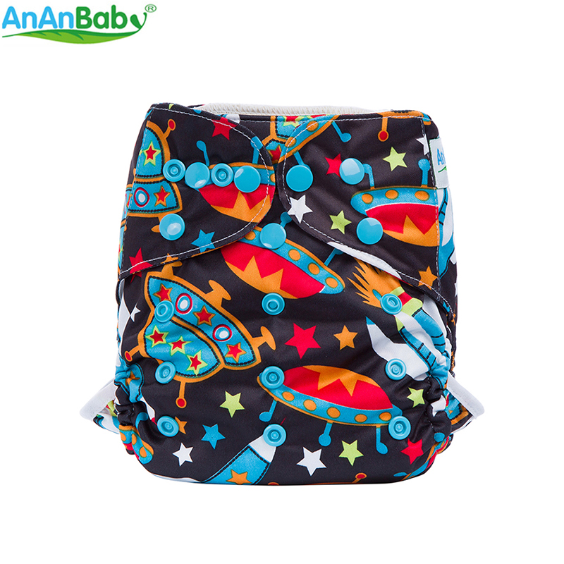 NUEVA LLEGADA Baby Nappy Cover All In One Size Pañal Cubierta Impermeable Transpirable PUL Máquina Lavable One Size Diaper