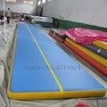 Бесплатная доставка от двери до двери 6*1*0 2 м надувной батут воздушный трек гимнастический надувной воздушный коврик Бесплатный насос