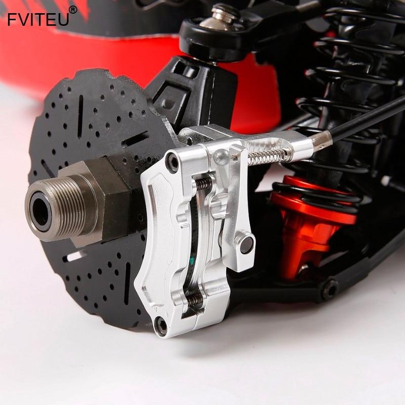 FVITEU металлические задние колеса провода тормозной кабель тормоза набор для 1/5 hpi rovan baja 5b SS 5sc king двигатель - 3