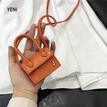 все цены на New Small Bag Mini Handbag Candy Color Women PU Woman Cute Solid Leather Crossbody Bag Designer Lady Casual Purses Handbags онлайн