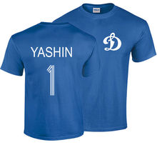 LEV YASHIN T SHIRT RUSSIA CCCP FOOTBALLER DYNAMO MOSCOW LEGEND CAMISETA SOCCERER T-Shirt Summer Novelty Cartoon Shirt