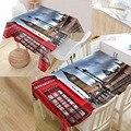 Лондонский уличный стол покрытие Печать Водонепроницаемая скатерть больше размеров скатерти кухня свадебное оформление отеля