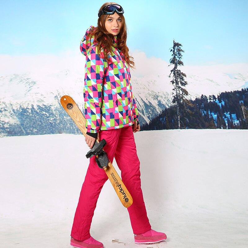 2016 New Ski Suit Set Womens Snowboard Jacket and Pants Windproof Waterproof Womens Winter Jackets Free Shipping HX0022016 New Ski Suit Set Womens Snowboard Jacket and Pants Windproof Waterproof Womens Winter Jackets Free Shipping HX002