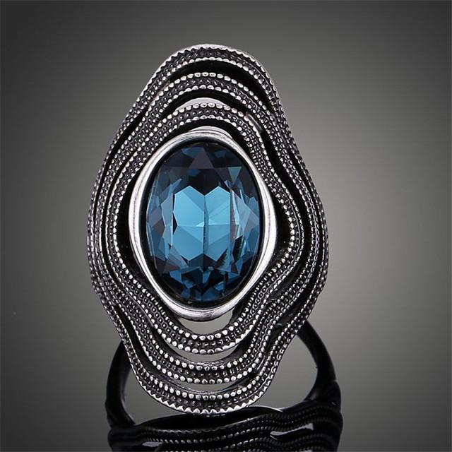Vintage Antique Silver Bohemian Boho Ring