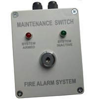 Maintenance Switch For Automatic Gas Extinguisher Panel Work With Fire Fighting Panel