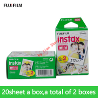 new 20/a box fujifilm film 40 sheet white Edge 3 Inch for Instant Camera 7S 9 25 50s 70 90 sp 1 sp 2 Photo paper