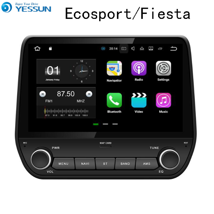 YESSUN For Ford Eossport 2015~2017 Car Navigation GPS Android Audio Video HD Touch Screen Stereo Multimedia Player No CD DVD lisslee car android 6 0 gps navi navigation multimedia for dodge challenger radio hd screen audio video no cd dvd player system