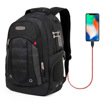 swiss business mochila sac a dos  17 business travel laptop Backpack male backpacking Laptop Backpack Sac A Dos Bagpack