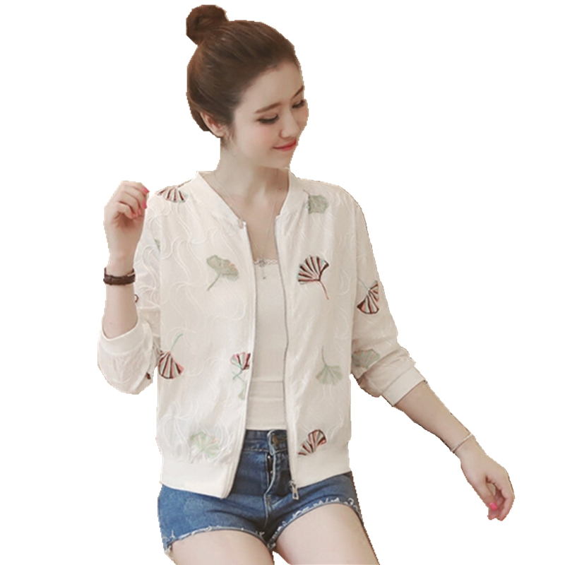 Summer sun protection clothing women jacket ultra light breathable mid sleeve Jacket Big fashion women Casual Sunscreen jacket in Jackets from Women 39 s Clothing