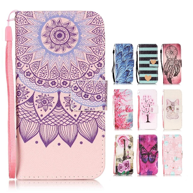 Printing Leather Case for Huawei G Play Mini CHC-U01 Flip Cover for Honor 4C 4 C CHM-U01 CHM-CL00 CHM-UL00 C8818 Phone Cases
