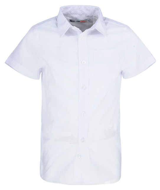 15273f059 2-7 Years Old Summer White Shirts For Boys School Short Sleeve School  Uniform Shirts For Boys Kids School Shirt Wholesale 8396
