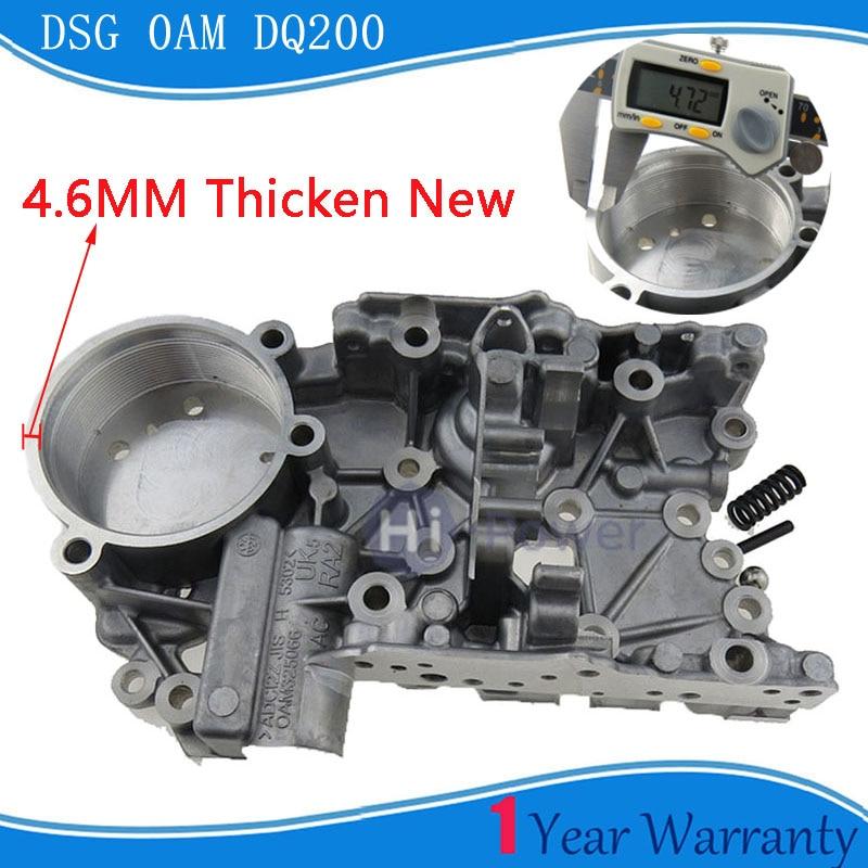 Thicken 4 6mm 0AM OAM DQ200 DSG Valvebody accumulator housing for AUDI Skoda Seat Passat 0AM325066AC