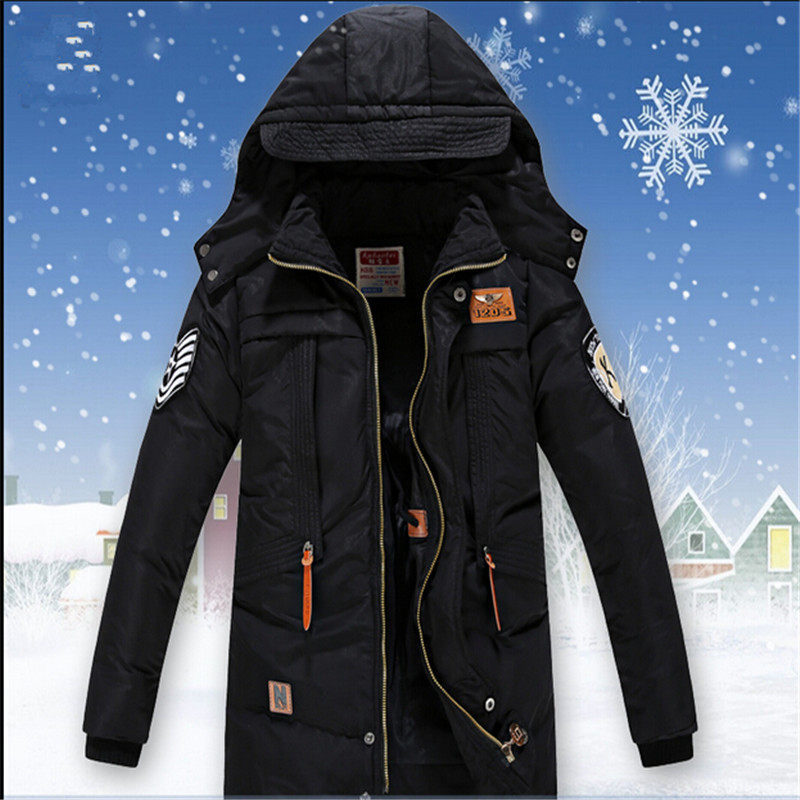 Male child ultra long wadded jacket outerwear medium-long thickening child down cotton child cotton-padded jacket cotton-padded коврик am mas 02st