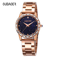 ladies watches quartz rose gold stainless steel sapphire crystal luxury diamond woman wristwatches waterproof Citizen movement