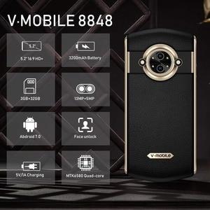 "Image 4 - TEENO Vmobile 8848 휴대 전화 안드로이드 7.0 3 GB + 32 GB 5.0 ""HD 스크린 13MP 카메라 3200 mAh 듀얼 Sim 스마트 폰 휴대폰 잠금 해제"