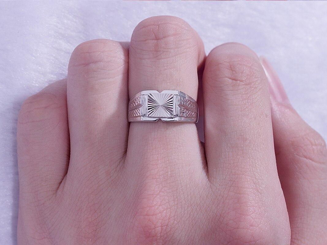 Квадратный платины PT950 белый, браслет напульсник, настоящее золото бриллиант жажду Свадебные Кольца для девочек; Мини Юбка Для мужчин мужск