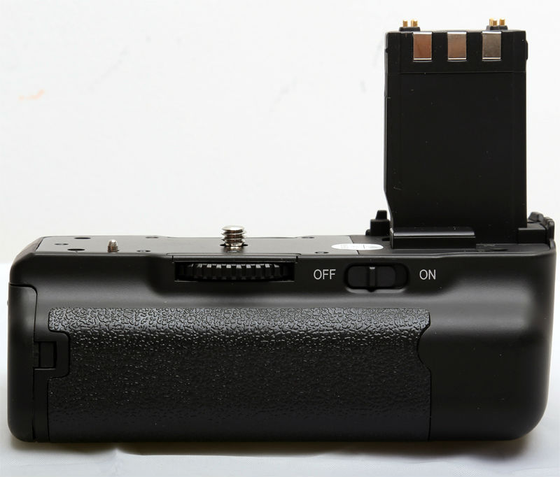 Vertical Battery Grip Pack for Canon DSLR Camera BG-E3 350D 400D Rebel XT XTi B1A Free Shipping