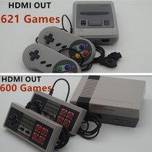 5 PCS saída HDMI Jogador Do Jogo Handheld Consola TV Jogo de Vídeo Clássico Retro Infância Embutido 600/621 Jogos Mini Console HD