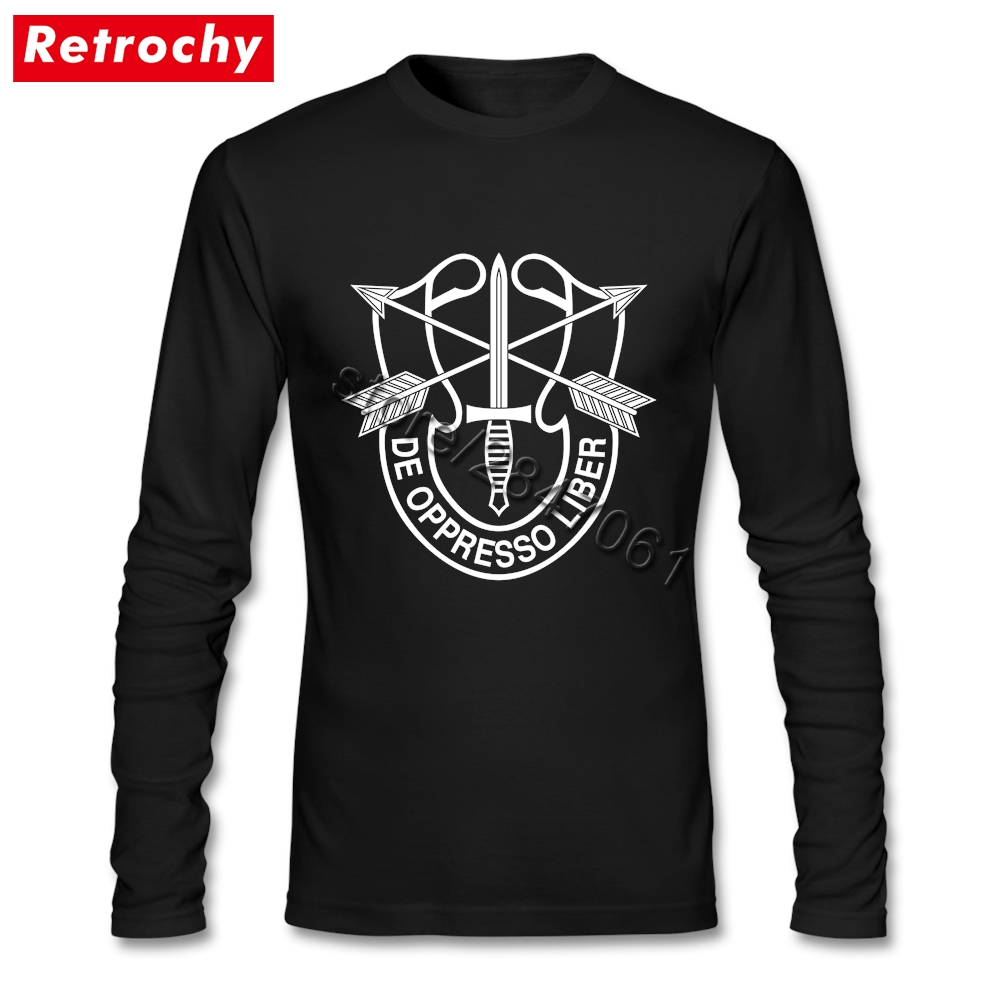 2017 Brand 90S Tshirt de oppresso liber Men Regular Fit Long Sleeve Graphic Tshirt Mens Large and Tall Size Merchandise