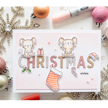 Christmas Mouse Clear Silicone Stamp DIY Scrapbooking Card Album Making Background Craft Handmade Decoration Template lovely unicorn clear silicone stamp diy scrapbooking card album making background craft handmade decoration template