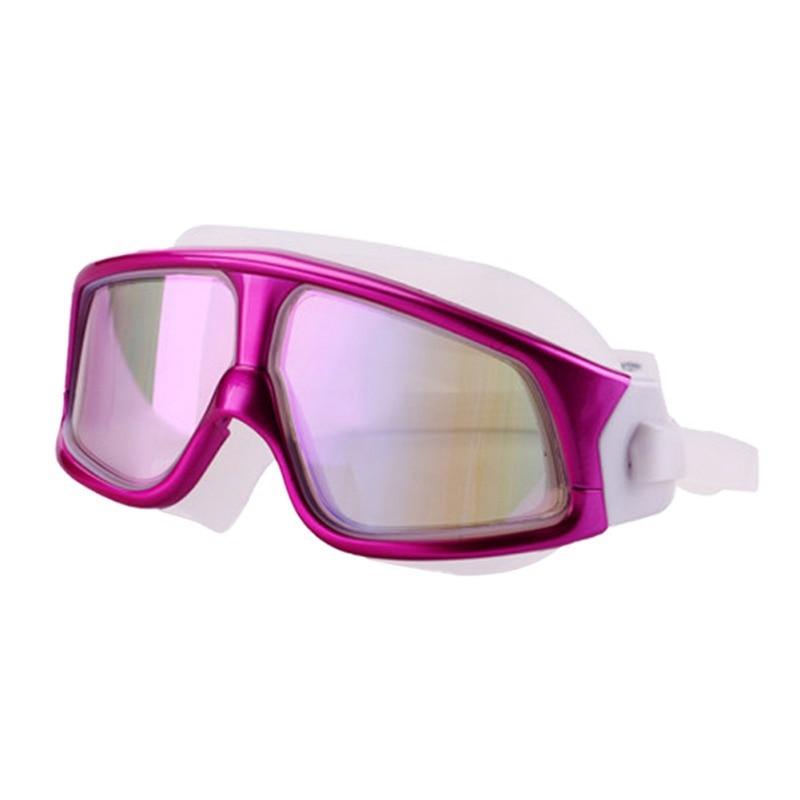 Очки для плавания ming, для мужчин и женщин, спортивные, профессиональные, анти-туман, защита от ультрафиолета, водостойкие, регулируемые, очки для плавания - Color: 6