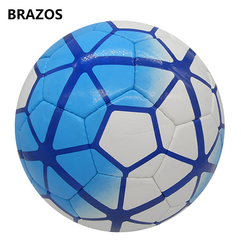 Outdoor Hand Sewn Soccer Ball Size 5 PU Official Football Ball For Adults Kids Boys Sport Durable Training Balls Voetbal Futbol