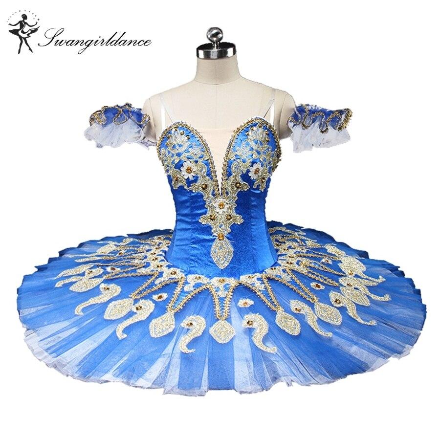 Новейшие синие «Лебединое озеро» балетная пачка блюдо сахар plum Фея профессиональная балетная пачка синяя птица BT9134C