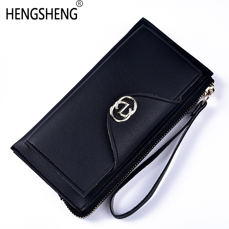 Zipper Long Handy Clutch Ladies Female Wallet Women Purse For Girls Money Cash Walet Phone Card Holder Perse Bags Brand Vallet large capacity women wallet leather card coin holder money clip long clutch phone wristlet trifold zipper cash female purse