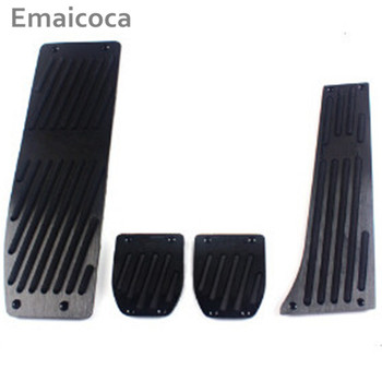 Emaicoca Car styling FootRest Gas Brake Pedal cover case For BMW M1 M2 M3 M4 E30 E32 E34 E36 E38 E39 E46 E84 E87 E90 E91 E92 E93 image