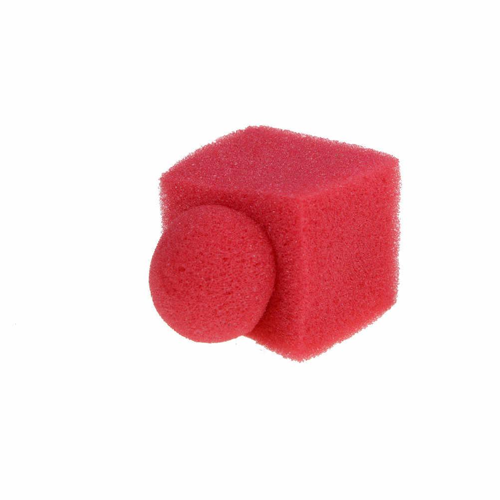 3 יח'\סט אדום ספוג כדור כדי קוביית קסם טריקים מוצרים/ספוג טריקים סט לקסמים