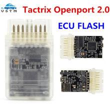 Herramienta de sintonización de Chip ECU, puerto abierto Tactrix Openport 2,0 con ECU FLASH, USB 2,0, novedad