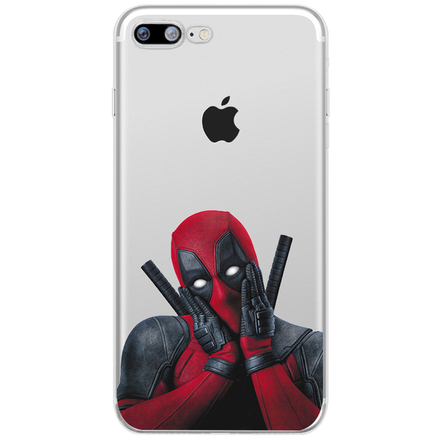 Deadpool Phone Cases For Iphone (6 Designs) 5