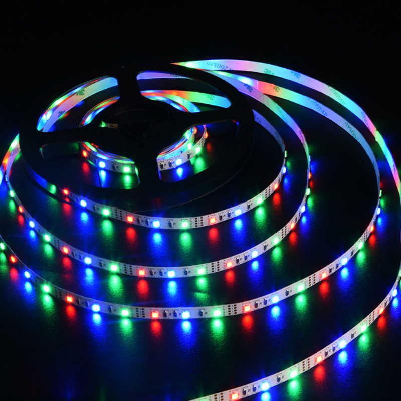 5V USB الطاقة LED قطاع RGB/الأبيض/الدافئة الأبيض الطيرة Led HDTV التلفزيون حاسوب شخصي مكتبي شاشة الخلفية و التحيز الإضاءة 1M 2M 3M 4M 5M