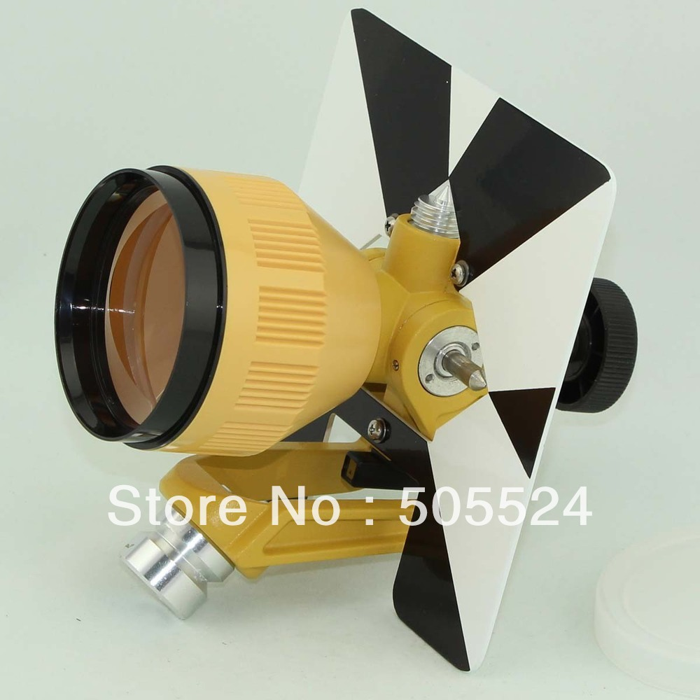 Single Prism for total station Free Shipping Promotion details about red single prism for type total station
