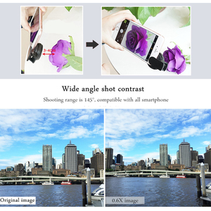 Image 4 - TOKOHANSUN Camera lens 4k HD 0.6x Wide Angle + 15x Macro Lens for IPhone 7 6s 5s 8 X XS se plus Mobile phone smartphone