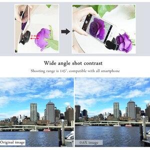 Image 4 - TOKOHANSUN kamera lens 4k HD 0.6x geniş açı + 15x makro Lens IPhone 7 6s 5s 8 X XS se artı cep telefonu akıllı telefon
