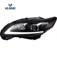 Vland Factory Car Accessories Head Lamp for Toyota Corolla 2011 2013 Head Light With H7 Xenon Lamp