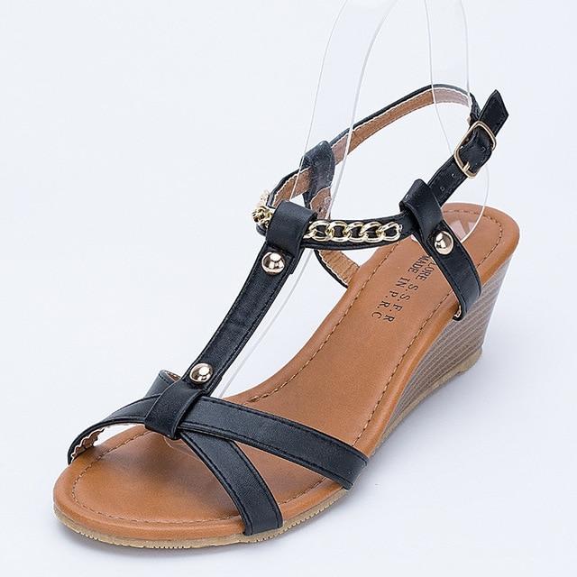 c6ab26bd4b2 Female Fashion Ladies Sandals Sandals Wedges Leisure Ladies Sandals  Aliexpress Amazon Wholesale