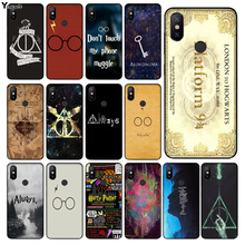 Yinuoda harry potter deer owl hallow quotes Phone Cover for xiaomi mi 6 8 se note2 3 mix2 redmi 5 5plus note 4 5 5