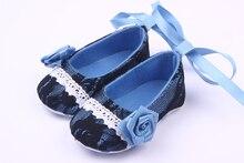 Красивые Фантазии Новорожденных Детская Одежда Обувь Для Девочек С Цветком И Кружева Дизайн 0-12 М