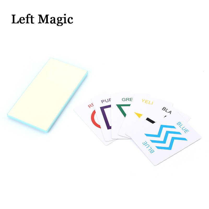 Предсказочная доска Детские Волшебные трюки игрушки реквизит для чтения умов ESP карты реквизит-аксессуары Illusions Street