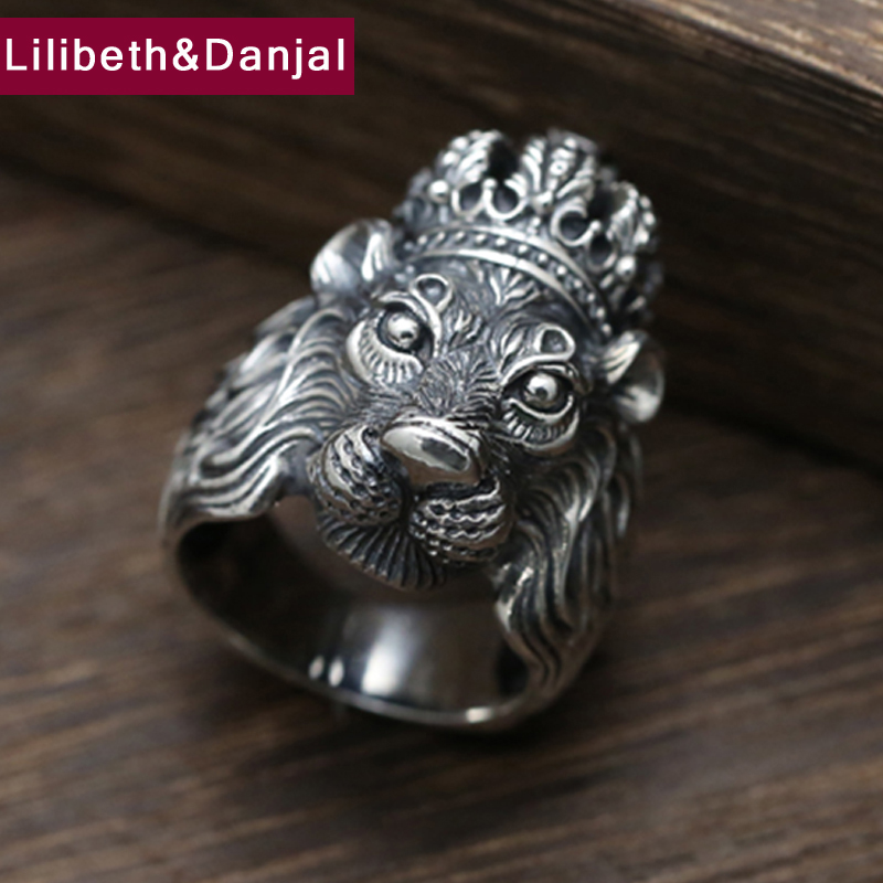 Lilibeth&Danjal Men's Ring 925 Sterling Silver Fine Jewelry
