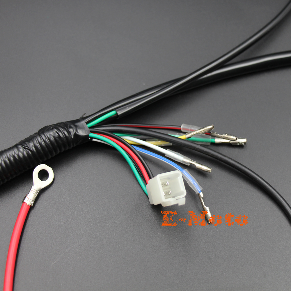 engine wiring harness loom for chinese 50cc 70cc 90cc 110cc 125cc rh aliexpress com td5 engine wiring loom engine bay wiring loom