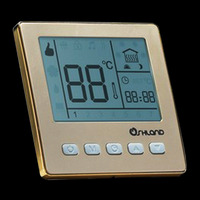 Digital Room Underfloor Heating Thermostat Programmable 16A Temperature Controller, Large LCD Display, Whole-sale-M75.16