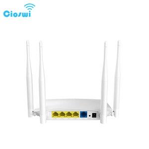 Image 1 - Cioswi Wifi Router Draadloze Repeater Met Externe Antenne Hoge Snelheid Rj45 300Mbps Wlan Router Wi fi Access Point Mobiele Hotspot