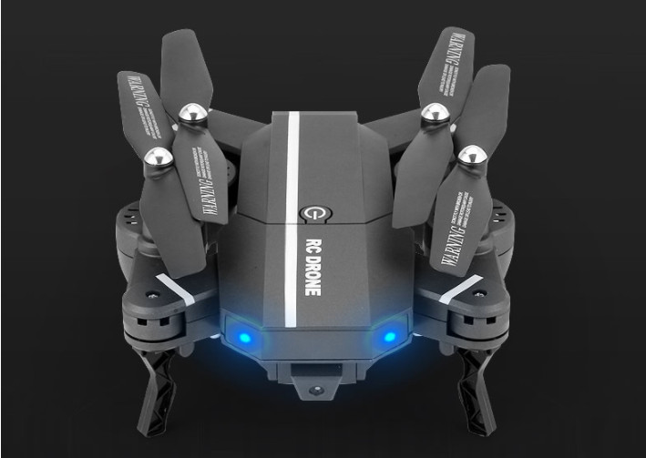 Mini Foldable Drone with HD Camera WiFi FPV RC Quadcopter remote control Helicopter dron