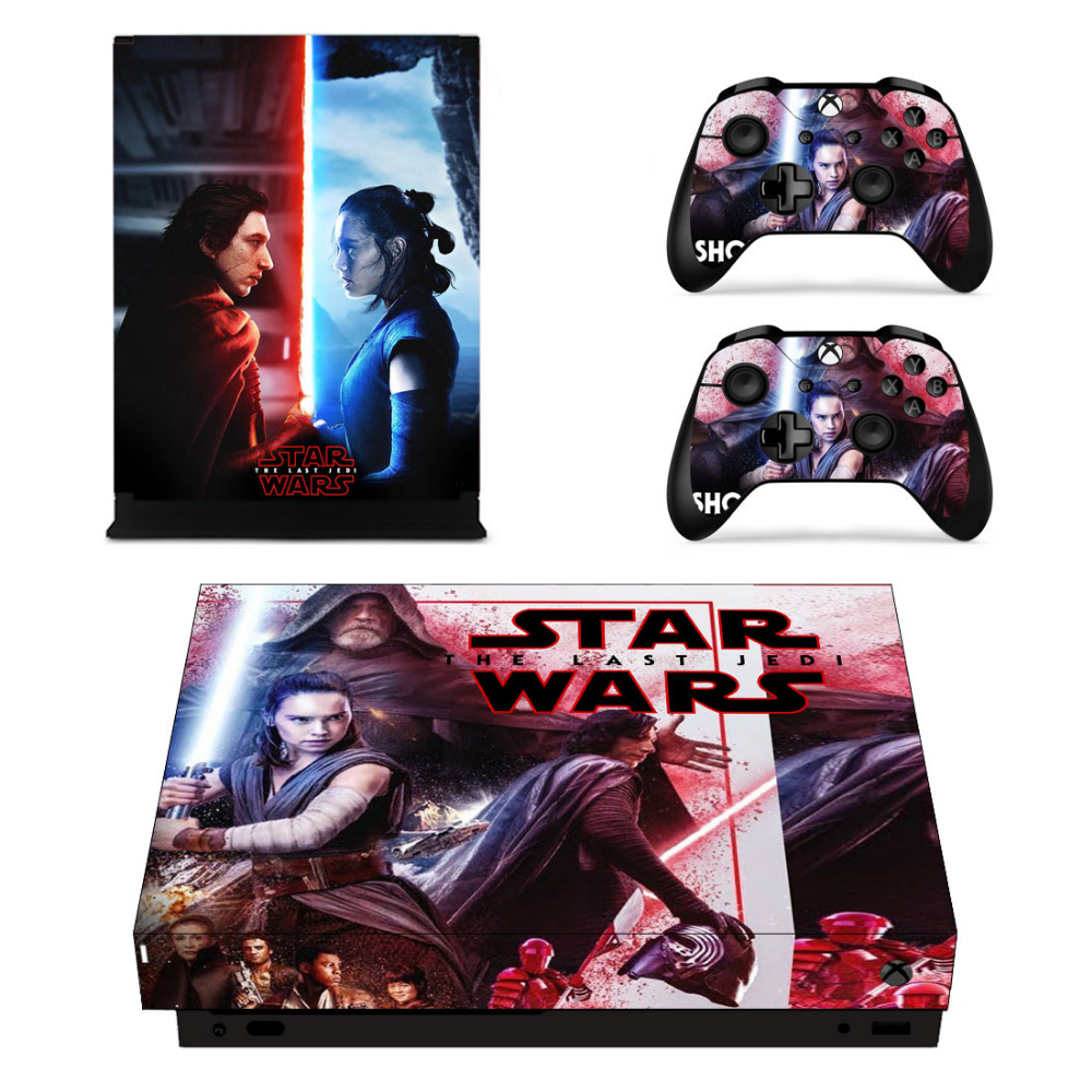 Video Games & Consoles Xbox One X Starwars New Order 1 Skin Sticker Console Decal Vinyl Xbox Controller Latest Technology
