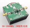 AE618 может достичь 20 дБ усиления широкополосного сопоставления мощности синтеза 1 Вт линейного усилителя мощности во всем диапазоне частот